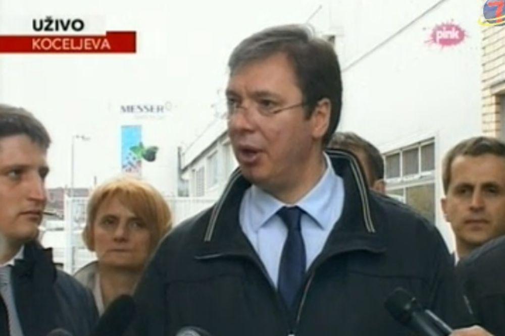 VUČIĆ O POSETI TAČIJA: Presuda protiv njega je snazi, Srbija će se tako i ponašati