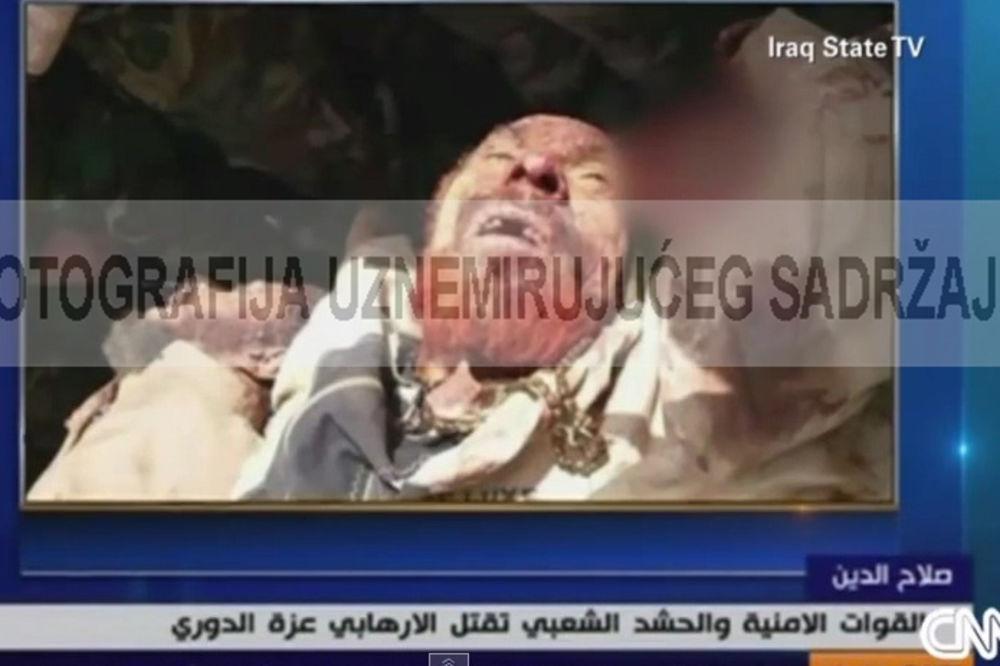 (UZNEMIRUJUĆI FOTO) STIGLA GA SADAMOVA SUDBINA: Iračani pokazali likvidaciju Huseinovog generala