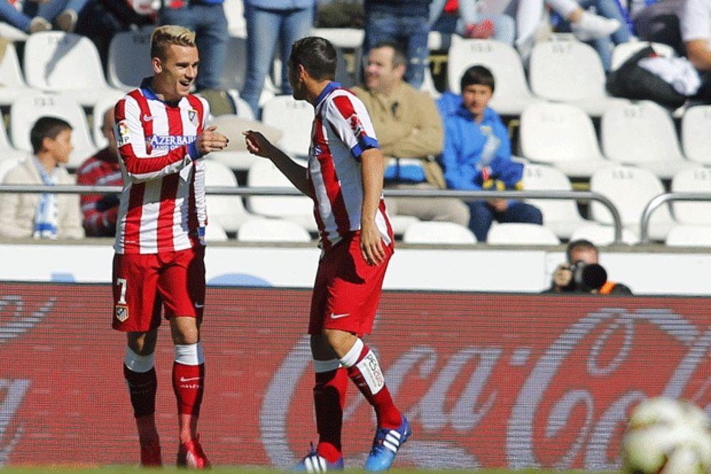 (VIDEO) GRIZMANOVA MAGIJA: Pogledajte gol makazicama fudbalera Atletiko Madrida u La Korunji