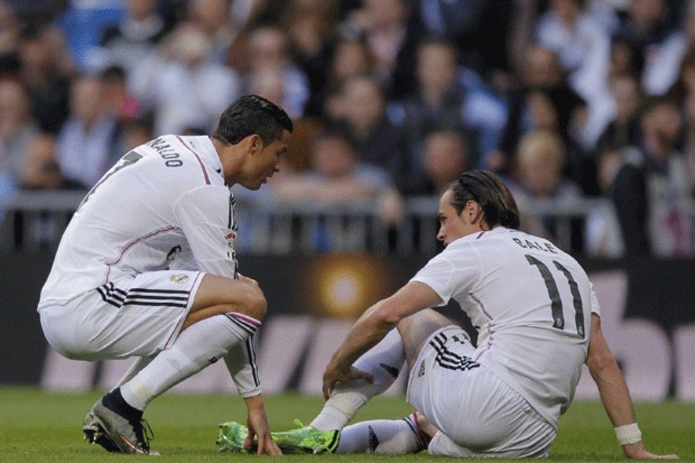 (VIDEO) MUKE ZA REAL: Ronaldo promašio penal, povredili se Bejl i Modrić