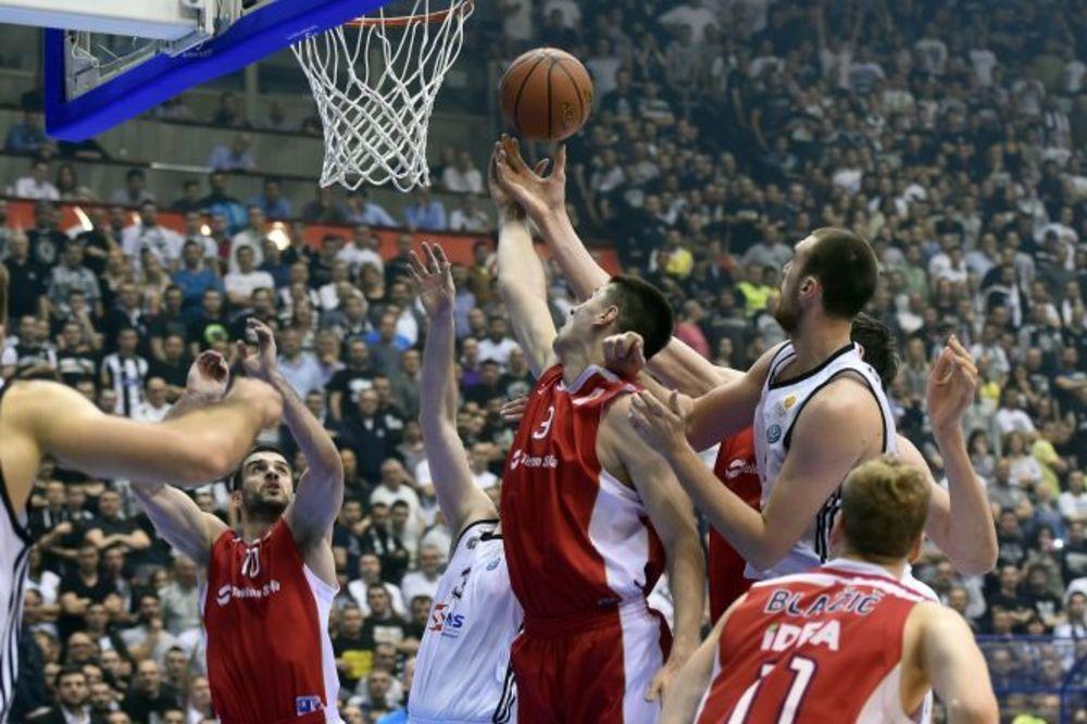 (VIDEO, FOTO) ZVEZDA VRATILA BREJK: Crveno-beli savladali kao gosti Partizan i poveli u seriji 2:1