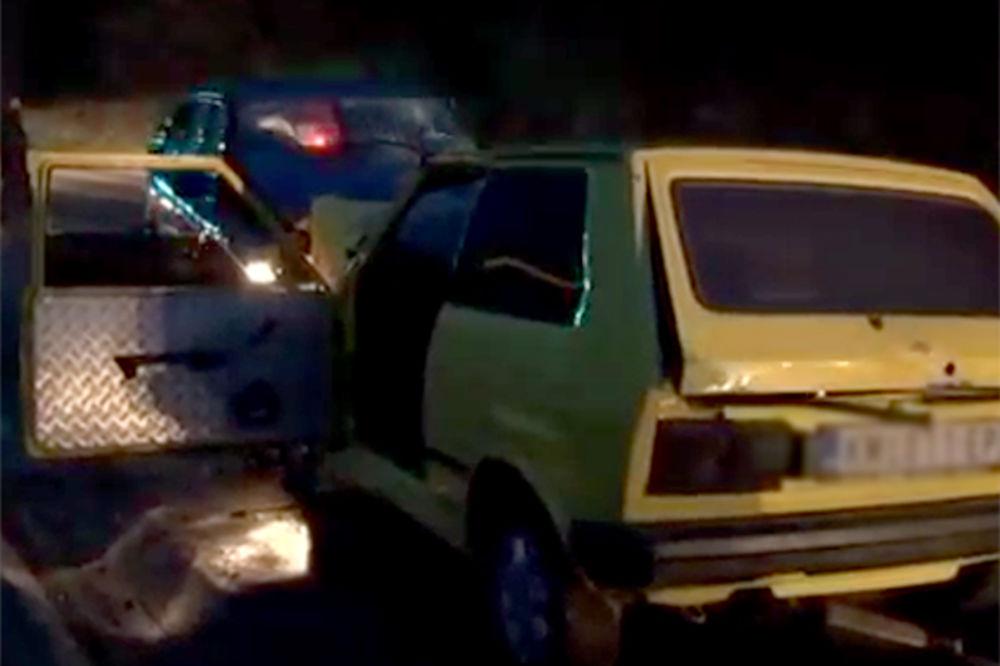 (VIDEO) TEŽAK UDES: Jedna osoba poginula, dvoje teško povređeno kod Kosovske Mitrovice