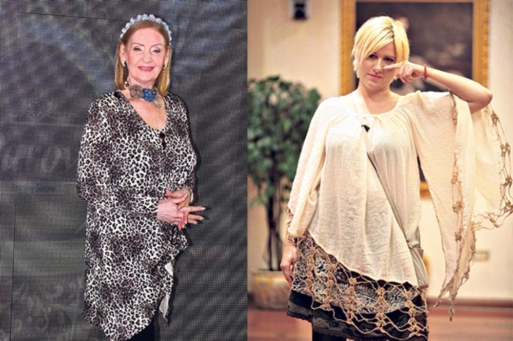 Lepa Lukić Jelena Golubović, foto damir dervišagić, foto dragana udovičić