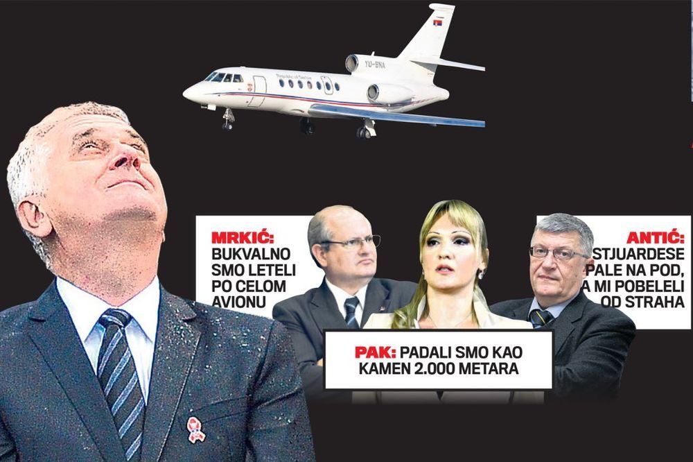 PREUVELIČALI: Nikolićevi saradnici izmislili padanje aviona!
