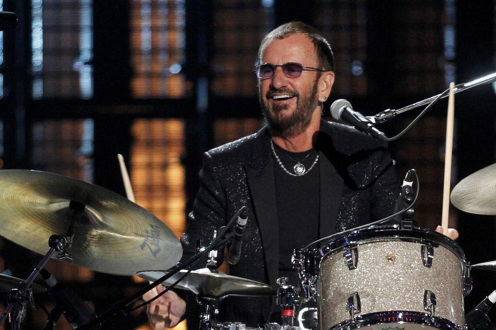 VELIKO PRIZNANJE: Ringo Star u Rokenrol Dvorani slavnih