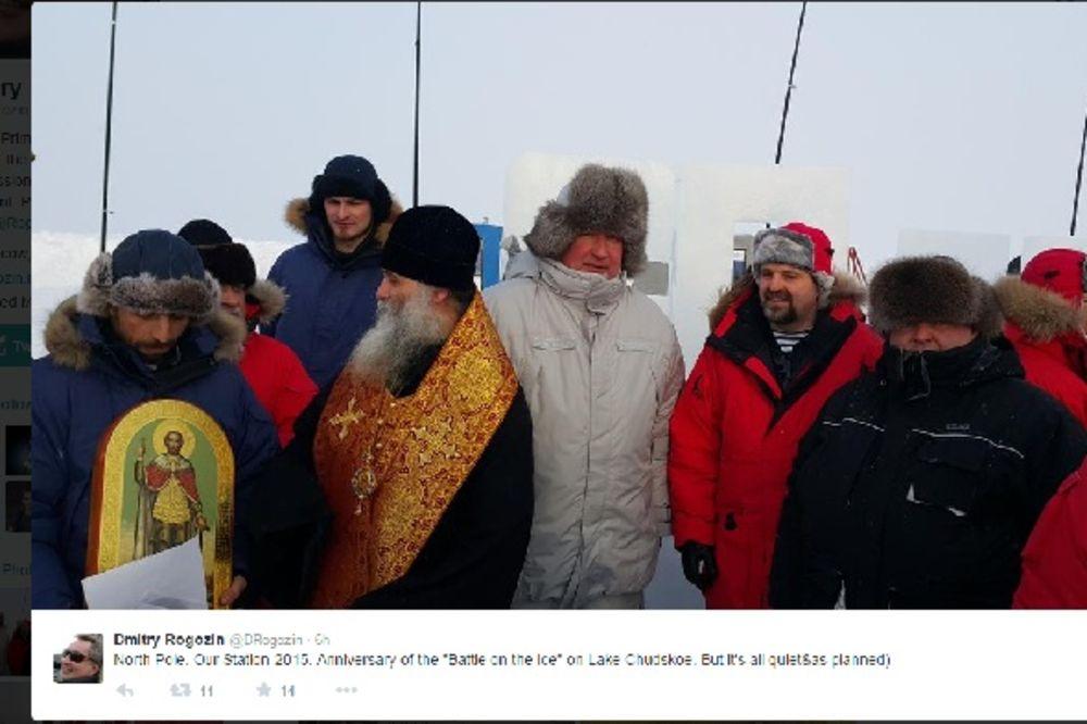 ROGOZIN NA ARKTIKU: Rusija zvanično pokrenula svoju plutajuću stanicu na Severnom polu
