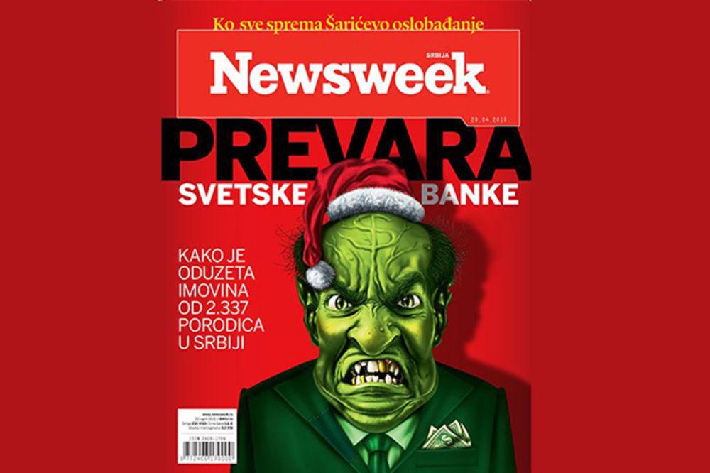 NOVI NEWSWEEK Prevara Svetske banke preko Koridora ojadili 8.000 ljudi u Srbiji za 388 miliona$
