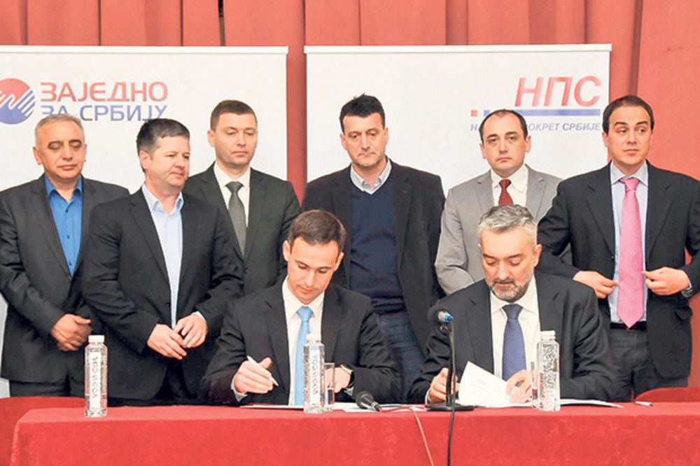 UDRUŽILI SE: Petrović i Aleksić u frontu protiv Vlade