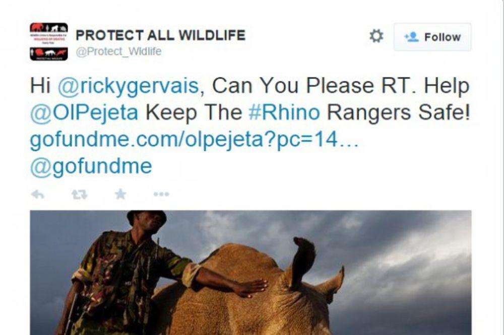 Ovo je poslednji severni beli nosorog na svetu: 24 sata ga čuvaju naoružani telohranitelji