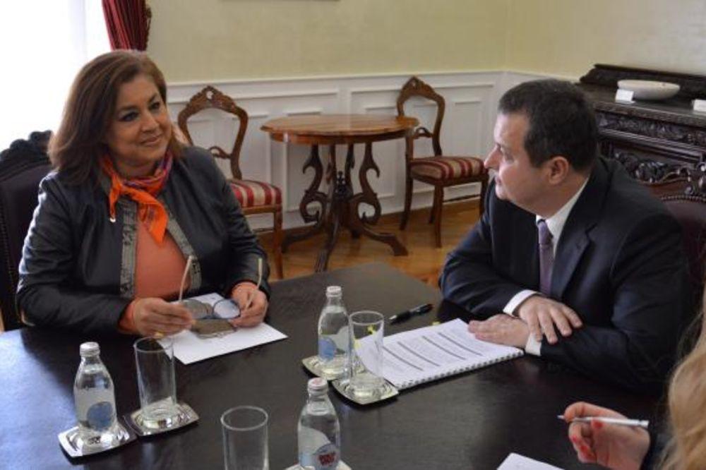 Dačić primio ambasadorku Egipta