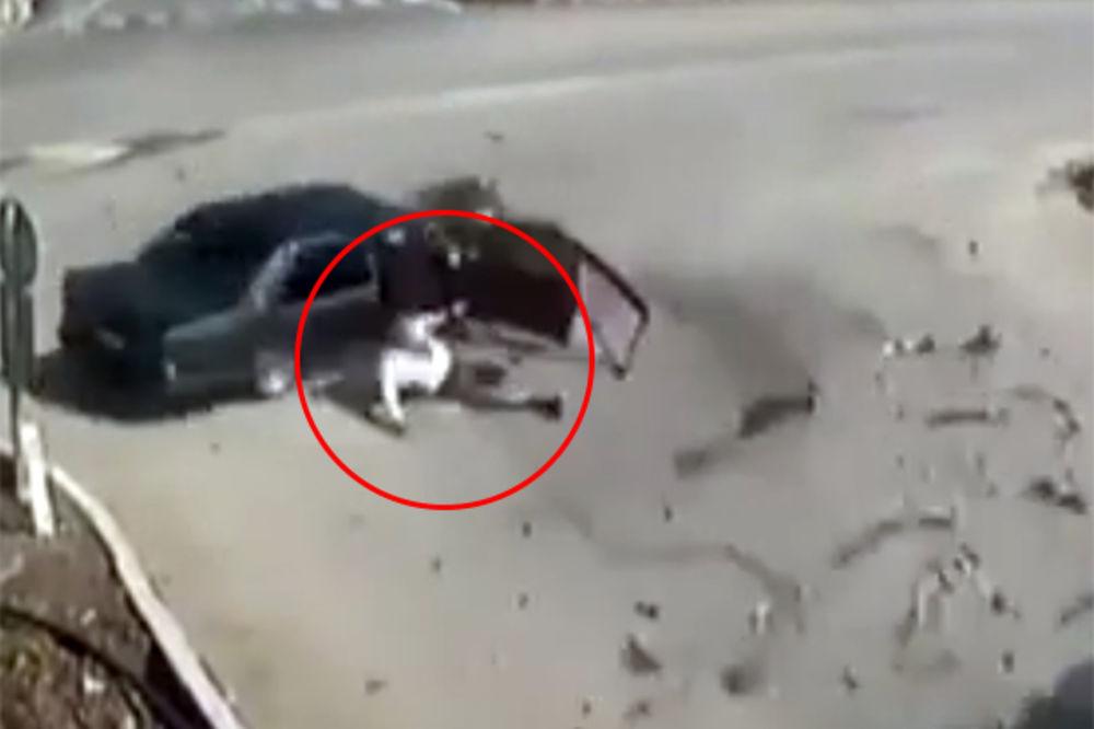 (VIDEO) NI SMRT GA NEĆE: Potpuno je neverovatno kako je preživeo!