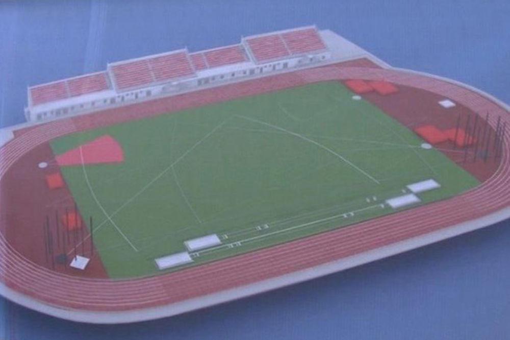 Vanja Udovičić obišao radove na Atletskom stadionu u Novom Pazaru