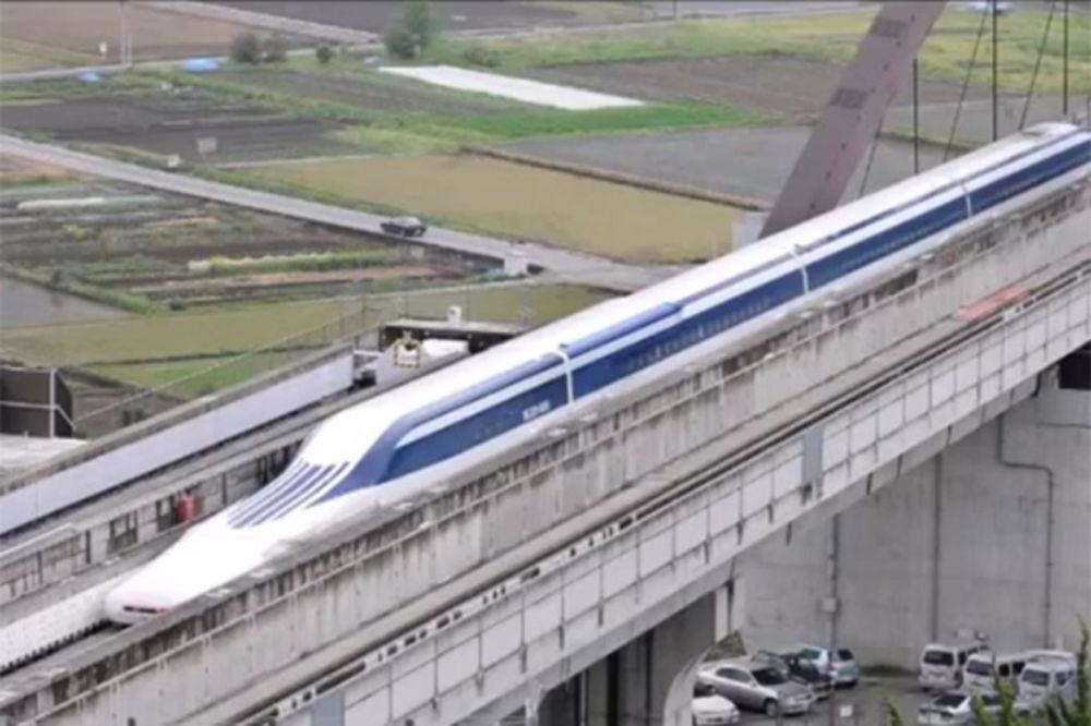 (VIDEO) NAJBRŽI NA SVETU: Japanski supervoz jurio 603 km na sat i potukao sopstveni rekord