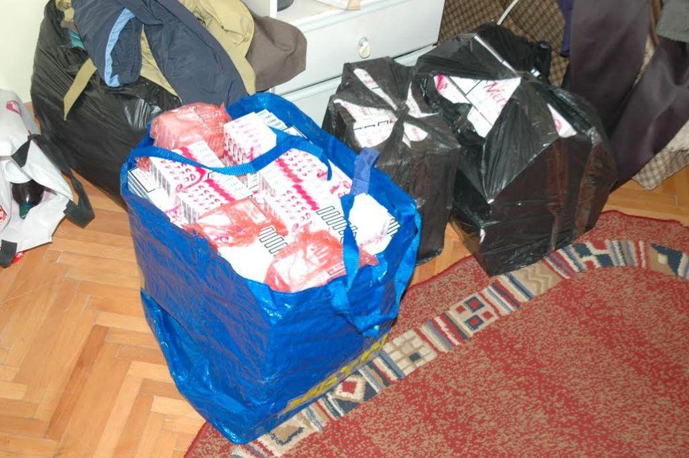 PRETRES: Nišliji u porodičnoj kući pronašli 2.350 paklica cigareta