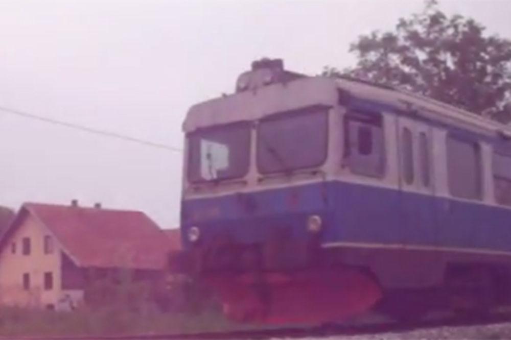 UMALO TRAGEDIJA NA PRUZI MAJDANPEK ZAJEČAR: Goreo voz u tunelu 20 putnika bežalo od vatrene stihije