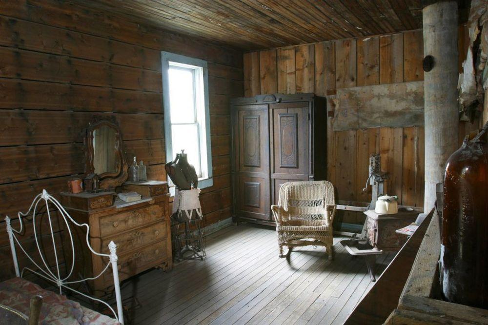 Unutrašnjost jedne hotelske sobe u Garnetu, gradu duhova, foto Profimedia