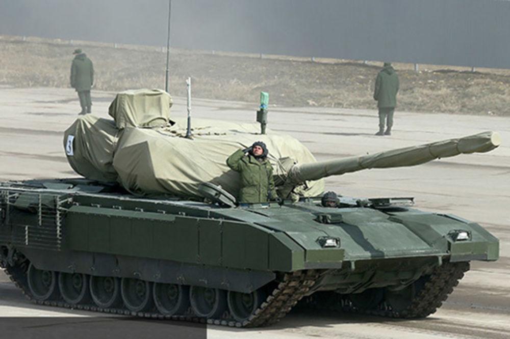 (VIDEO) NOVI VLADAR ZEMLJE: Rusi prikazali tenk Armata, svet će ga videti na paradi u Moskvi!