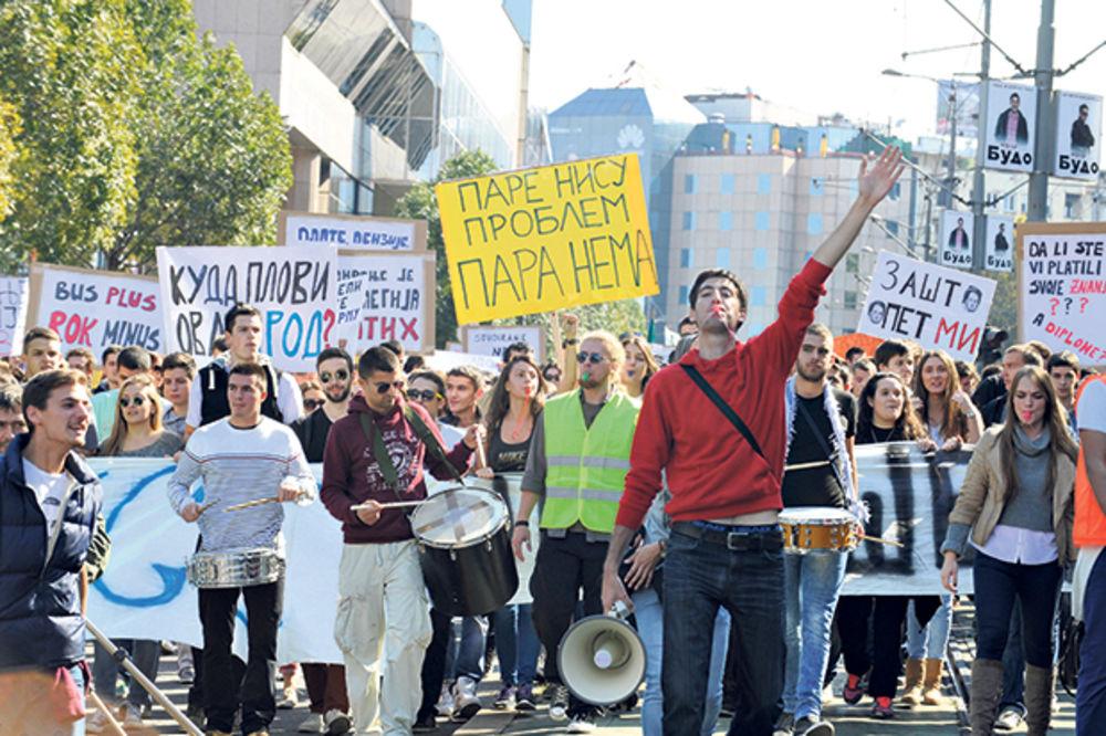 BUNT: Studenti ponovo izlaze na ulice!