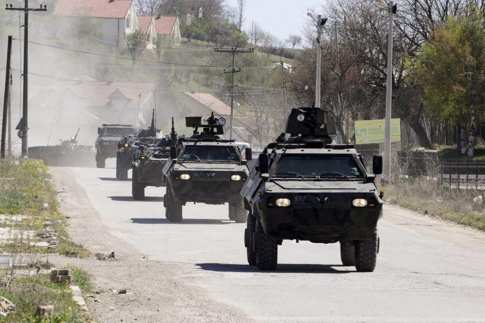 Makedonija, Gošnice - napad albanskih terorista