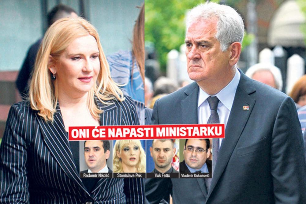 BESNI RAT NAPREDNJAKA: Nikolić izbacuje Zoranu Mihajlović iz SNS!