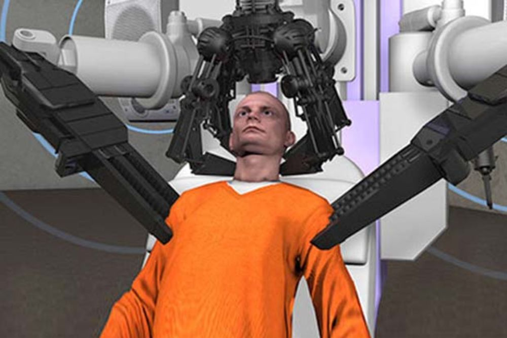 (VIDEO) CEO SVET NASEO: Mašina koji otkida glave zatvorenicima primenjena u Ohaju?