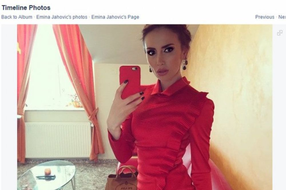 FOTOGRAFIJA IZ MLADOSTI OTKRIVA: Evo šta je Emina Jahović sve uradila na sebi