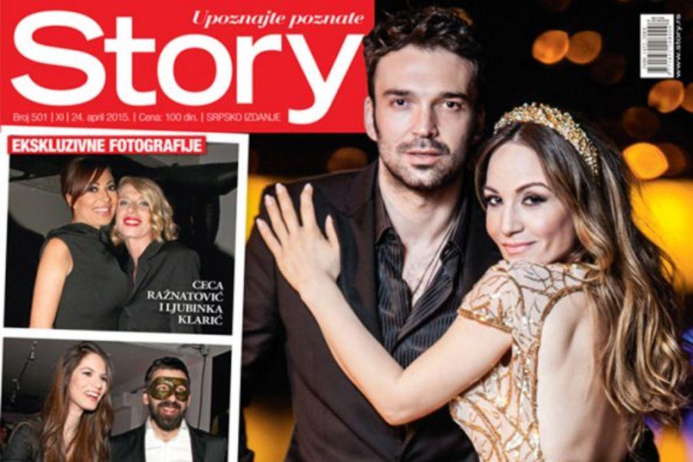 NOVI STORY EKSKLUZIVNO: Sve o glamuroznoj proslavi 500. broja – Noć u čast jubileja i poljubaca