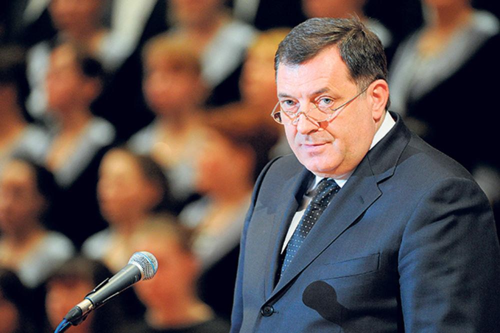 Turci optužuju: Dodik nije tražio dozvolu za let