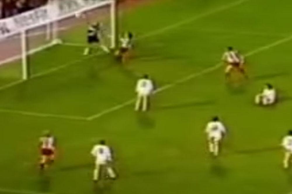 (VIDEO) MIHAJLOVIĆ U SREDINU, A ONDA... Nebo se otvorilo! Stadion je eksplodirao!