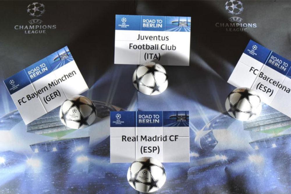 GVARDIOLA SE VRAĆA NA NOU KAMP: Barselona protiv Bajerna, Juventus na Real u polufinalu LŠ