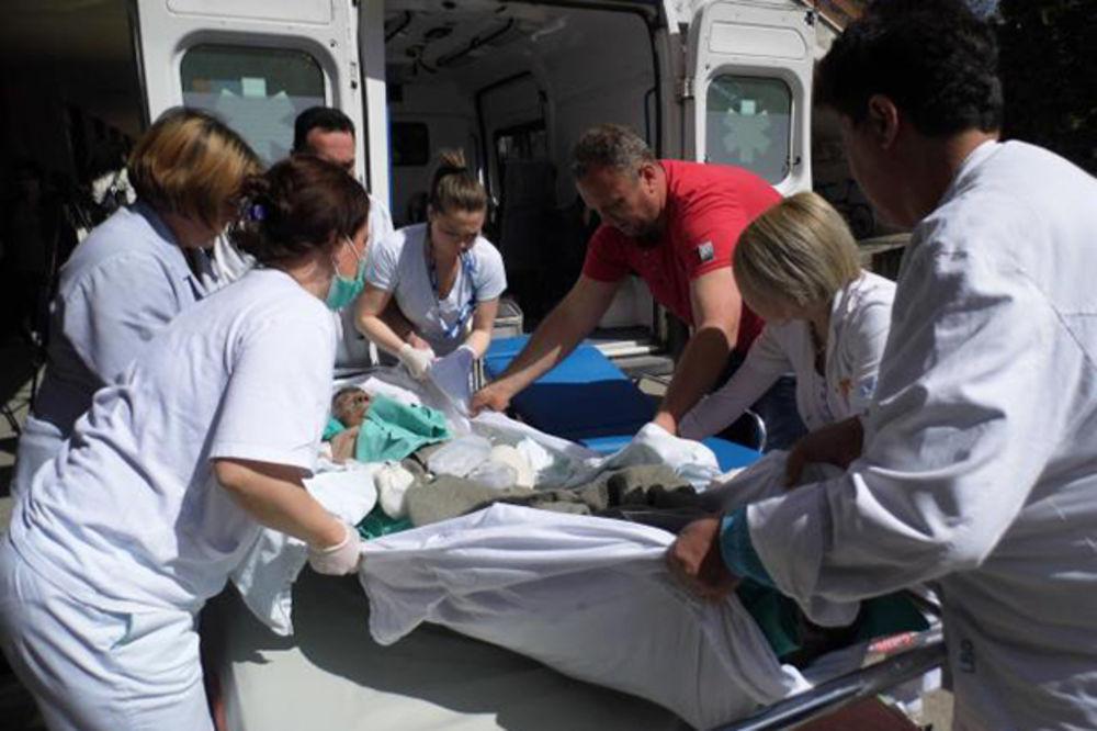 STRUJNI UDAR U TIGRU: Trojica povređenih radnika prebačeni na lečenje u Nemačku