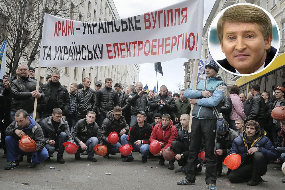 (VIDEO) MUTLJAVINA: Najbogatiji Ukrajinac Rinat Ahmetov optužen da je podbunio rudare