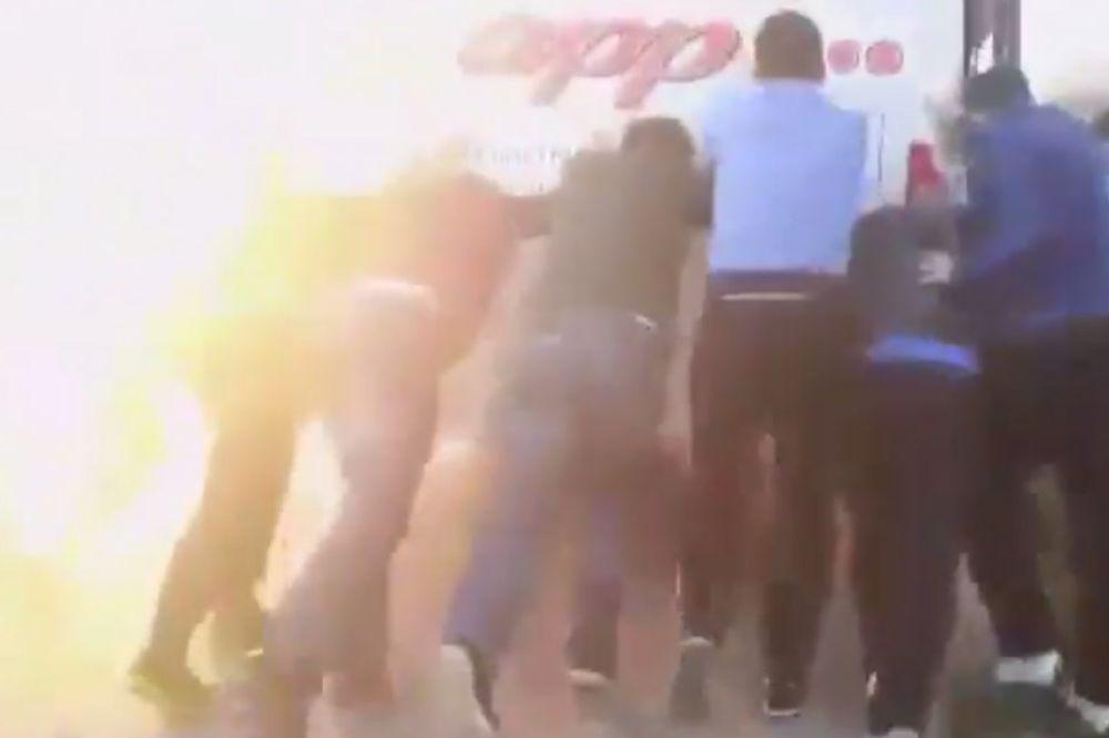 (VIDEO) MOŽE MALO GUR, GUR: Pogledajte šta  se desilo fudbalerima hrvatske Požege