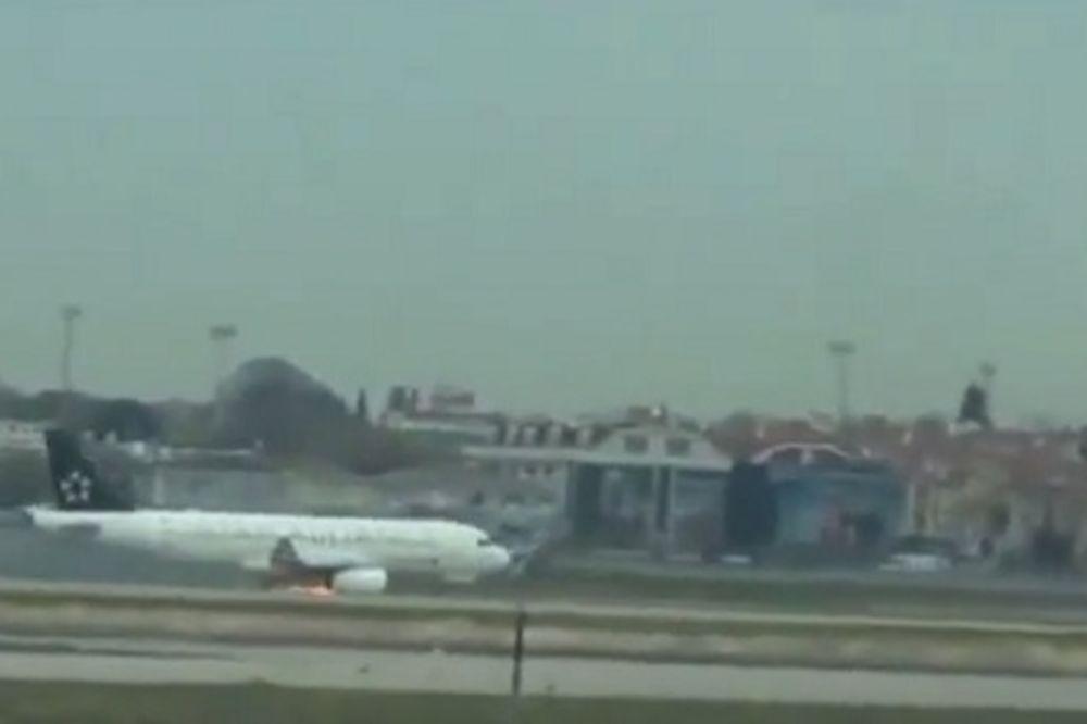 (VIDEO) DRAMA U ISTANBULU: Avion Turkiš erlajnsa u plamenu skliznuo s piste