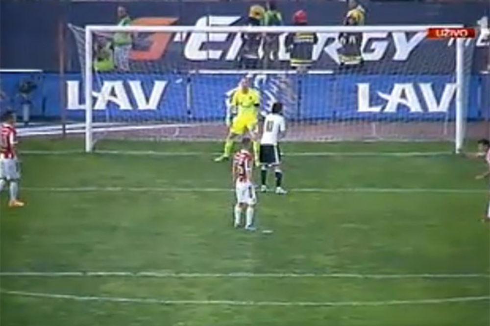 (VIDEO) PROMAŠAJ ZA MEDALJU: Pogledajte kako se Babović obrukao na večitom derbiju
