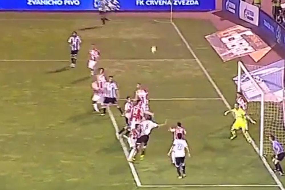 (VIDEO) PROCENITE SAMI: Da li je Partizan oštećen za penal protiv Zvezde?