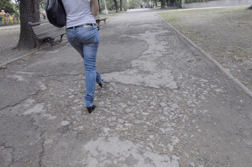 KOPAO NOĆU 6 MESECI Uzurpirao Tašmajdanski park i stan od 14 m2 proširio na 50. Ima i stepenice