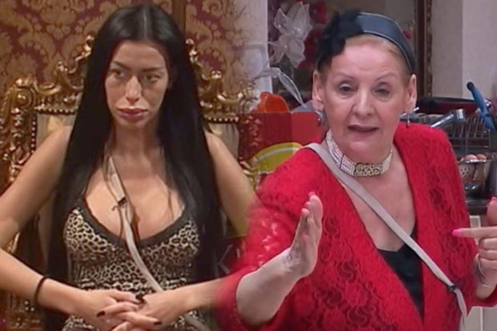 PALA I KRV U PAROVIMA: Lepa Lukić sav gnev iskalila na Mimi Oro