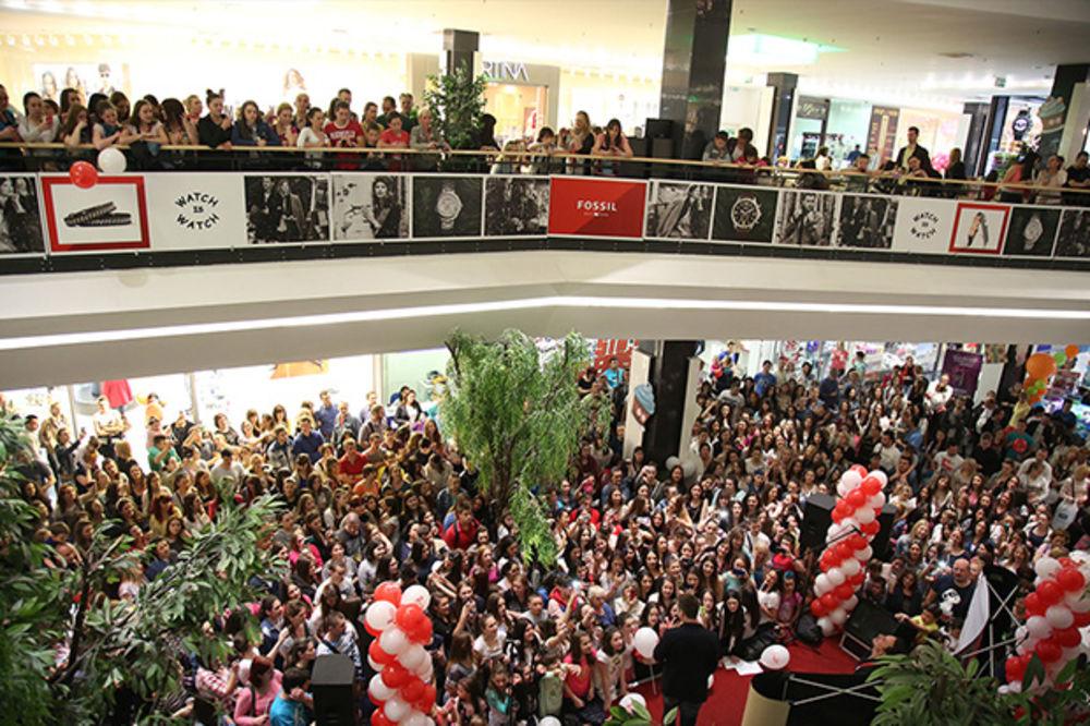 Fantastičani nastupi zvezda na rođendanu Stadion Shopping Centra i Story shopping groznici