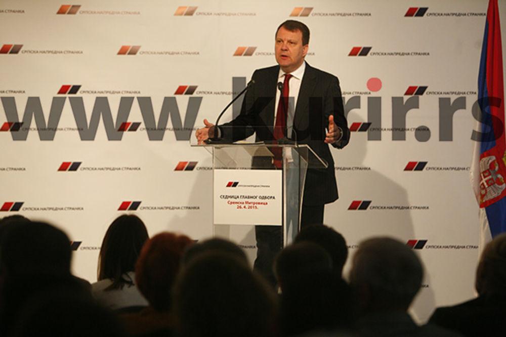SNS priprema ekonomsku i političku platformu za Vojvodinu