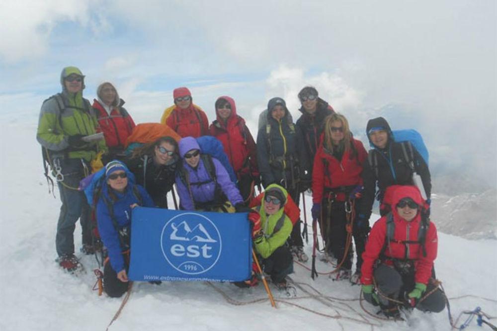 SRPKINJE JAČE OD ZEMLJOTRESA: Ženska ekspedicija osvojila Himalaje