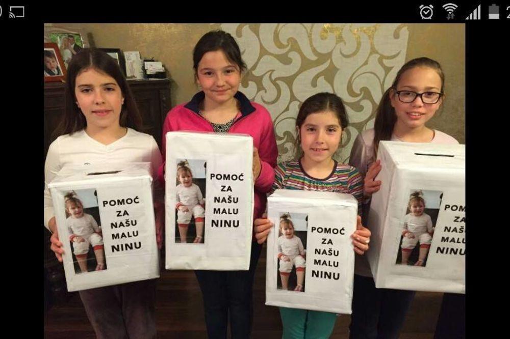 POMOZIMO DECI DA PRIKUPE POMOĆ: Nini Maksić(3) potrebno 30.000 evra za operaciju tumora na mozgu!