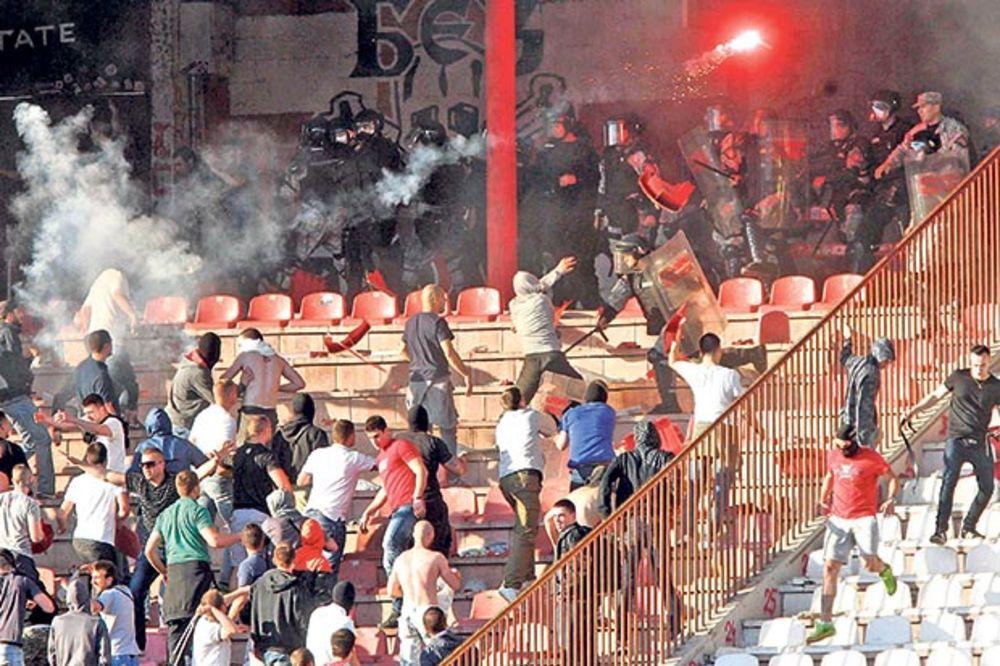 DIVLJAŠTVO: Huliganima pomogli Zvezda i Partizan?!