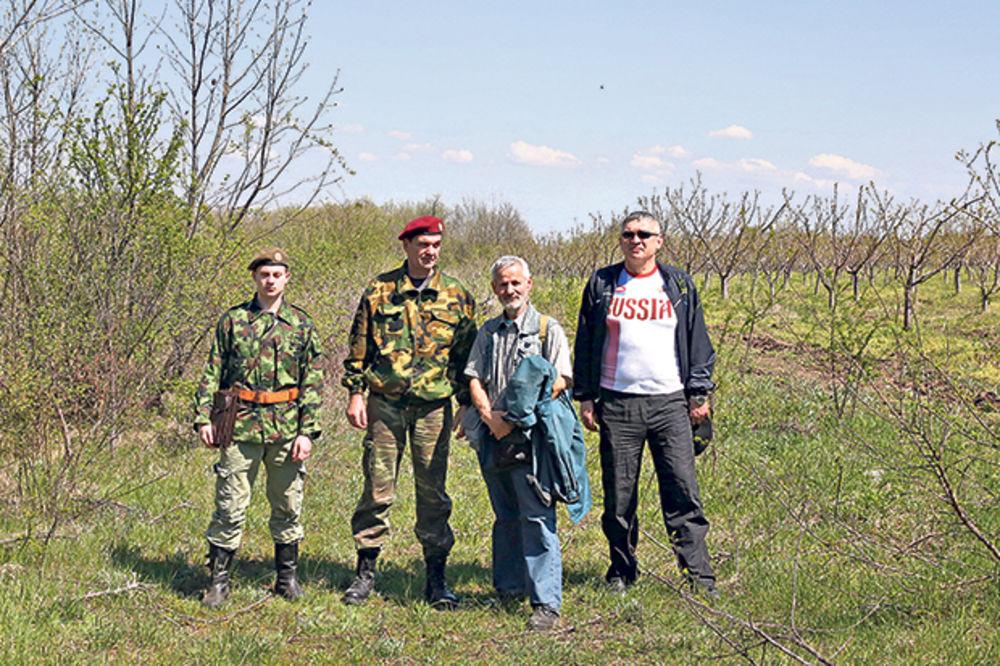 SKUĆILI SE: Srpski kozaci dobili parče svoje zemlje