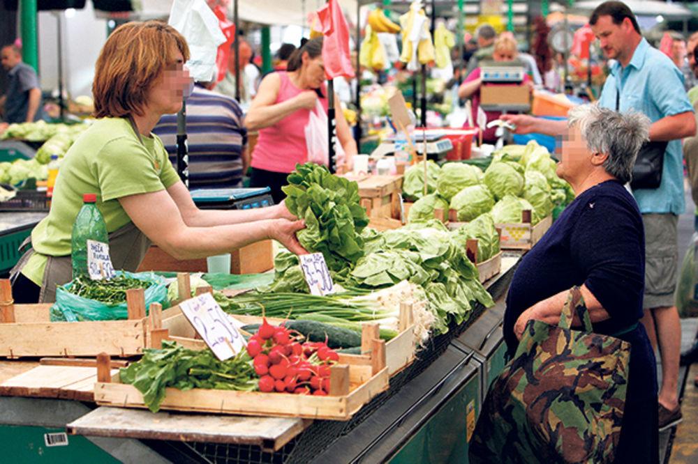 TRŽIŠTE U HAOSU: Trgovci na zelenoj salati zarade 400%