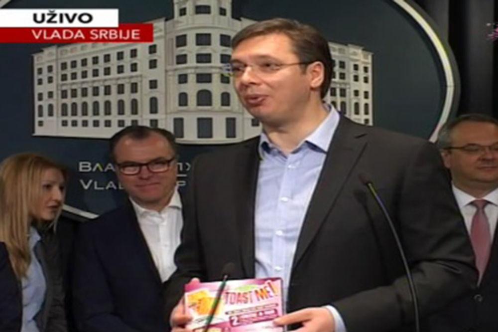 VUČIĆ SA NEMAČKIM KRALJEM MESA: Dolazak Tenisa je velika stvar za Srbiju!