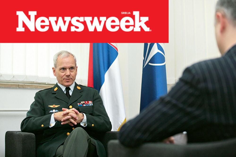 GENERAL KNUD BARTELS ZA NEWSWEEK: NATO i Srbija razvijaju zajedničke ciljeve!
