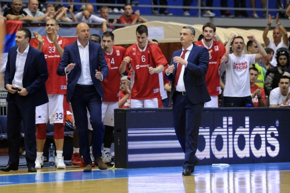 (VIDEO) STANI, TIŠINA: Radonjić smirivao Delije pred Dženkinsova bacanja za pobedu