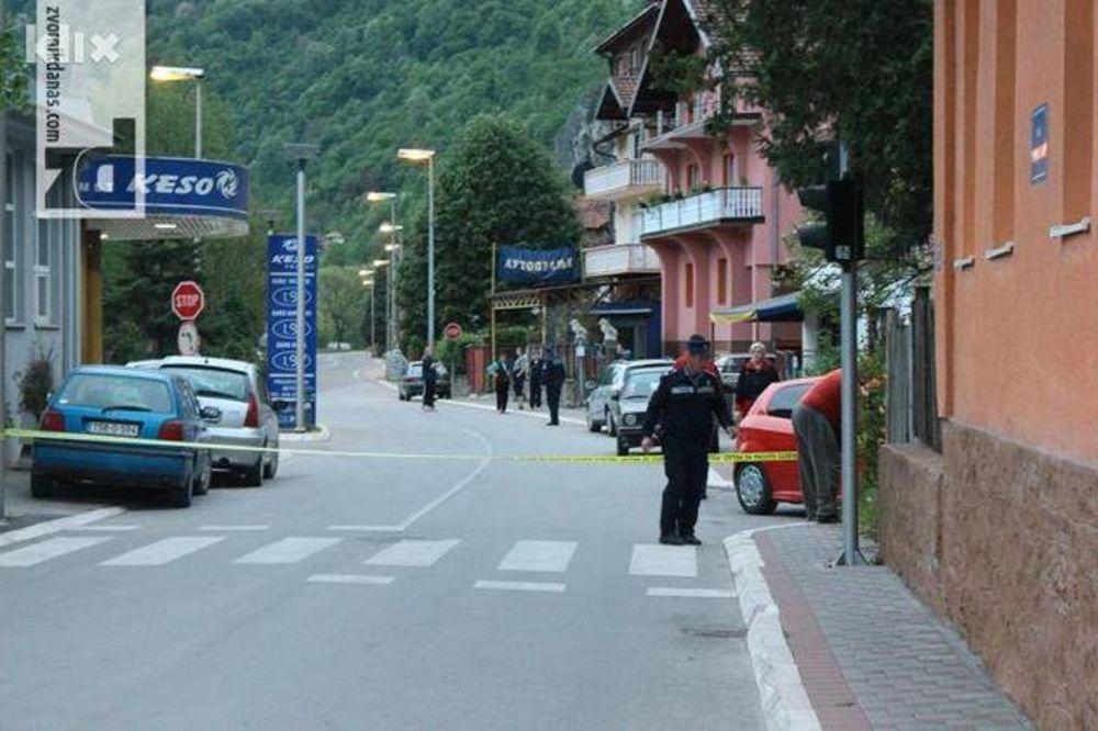 OVAKO JE IZGLEDAO TERORISTIČKI NAPAD: Policajac mu rekao da ne može da parkira, a onda je zapucao!
