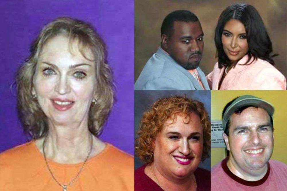 (FOTO) AKO BI IM UZELI MILIONE: 13 slika poznatih ličnosti u izdanju običnih ljudi!